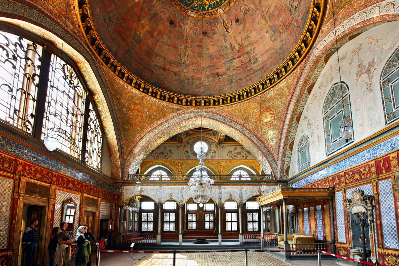 Tour Photos Topkapi Palace Harem Interior