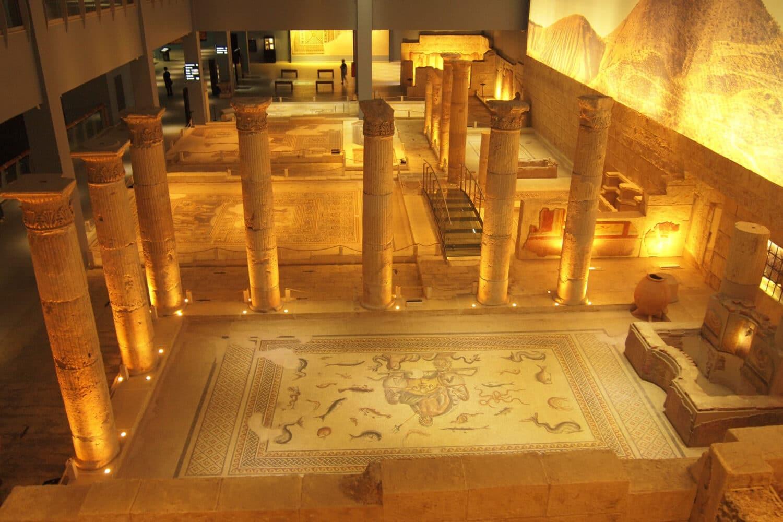Tour Photos Zeugma Mosaic Museum Ancient Foundings