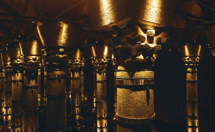 Columns of Basilica Cistern Istanbul