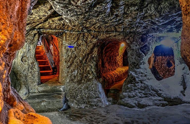 Deepest Underground City Derinkuyu