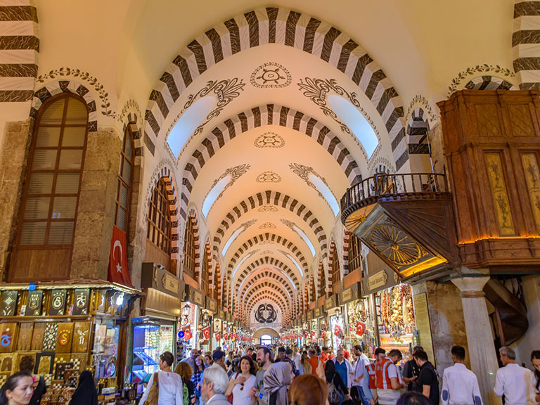 Istanbul Spice Market Interiors