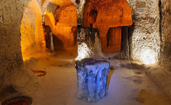 Kaymakli Underground City Church