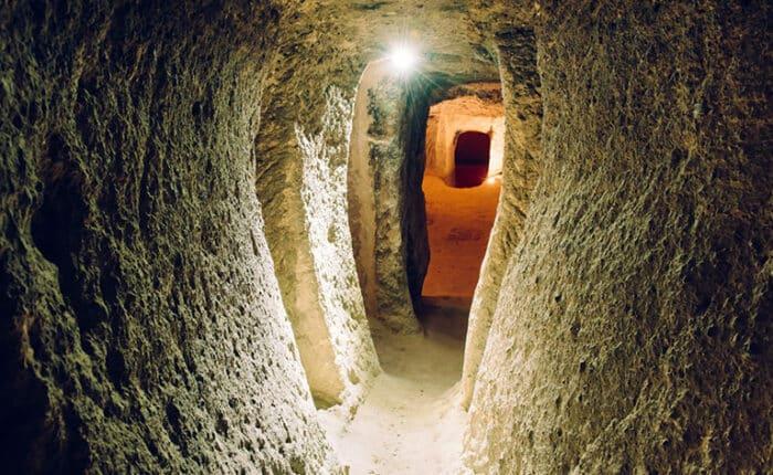 Ozkonak Underground City Tunnels