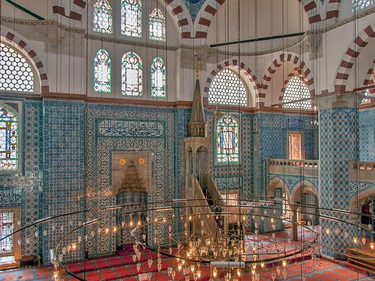 Rustem Pasha Mosque Tiles Interior