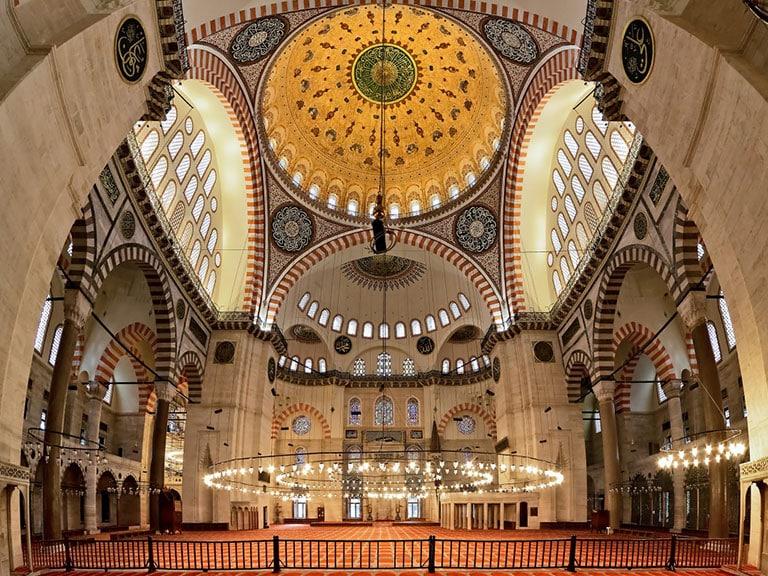 Suleymaniye Mosque Interiors