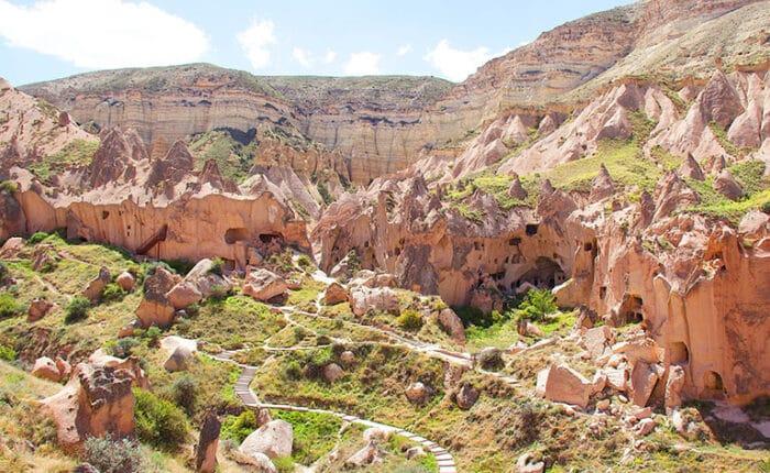 Zelve Open Air Museum Valleys