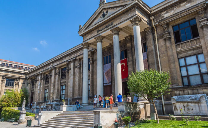 Istanbul Archaeology Museums main