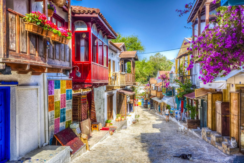 Gulet Kas Town