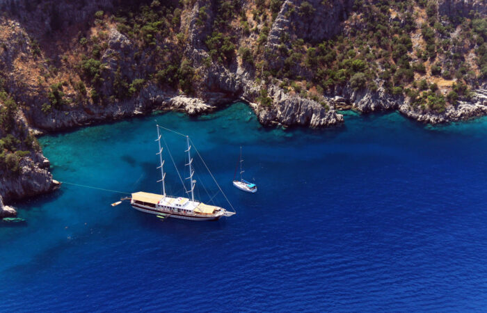 Private Blue Cruise Charter on Antalya-Fethiye