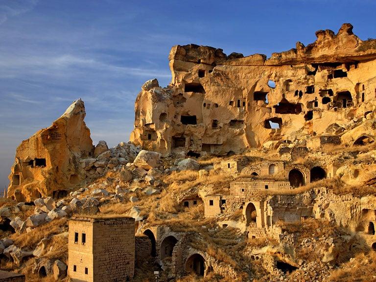 Cavusin Ruins Sunset View