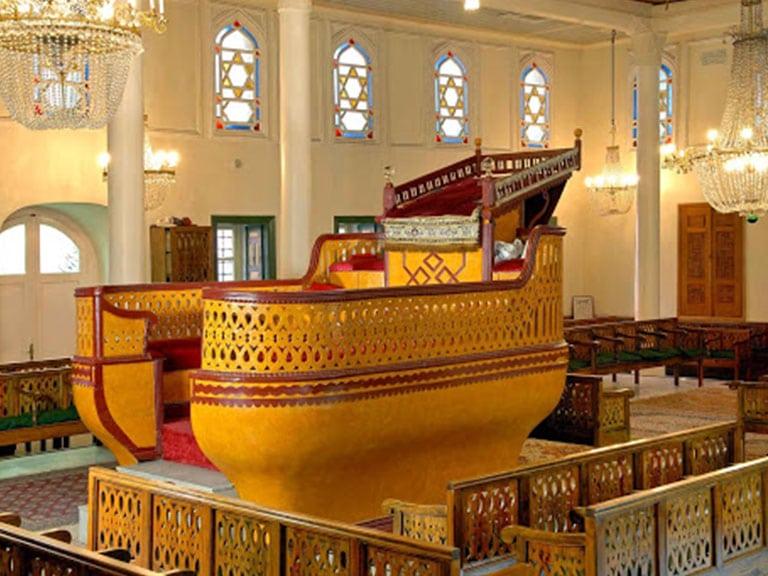 Ahrida (Ohrid) Synagogue interior Fener-Balat Istanbul
