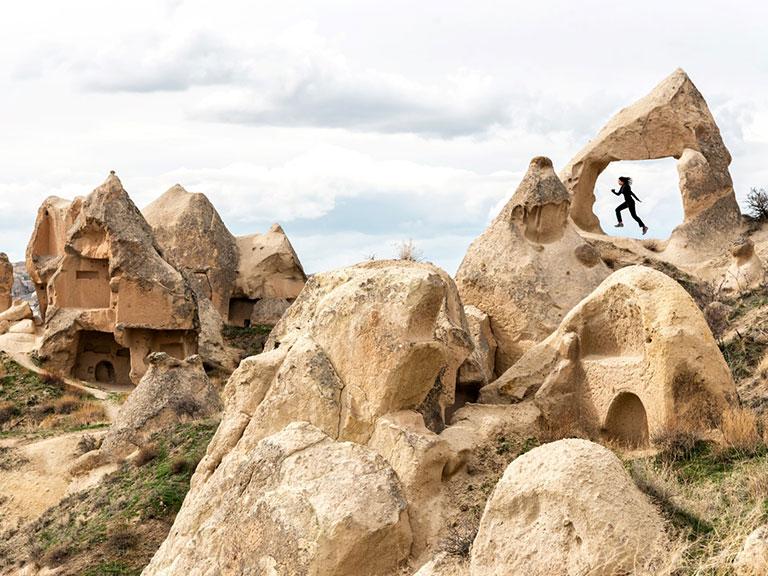 Cappadocia Landscapes Amazing Valleys