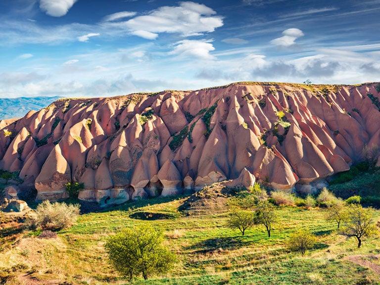 Cappadocia Rock Formations Badlands