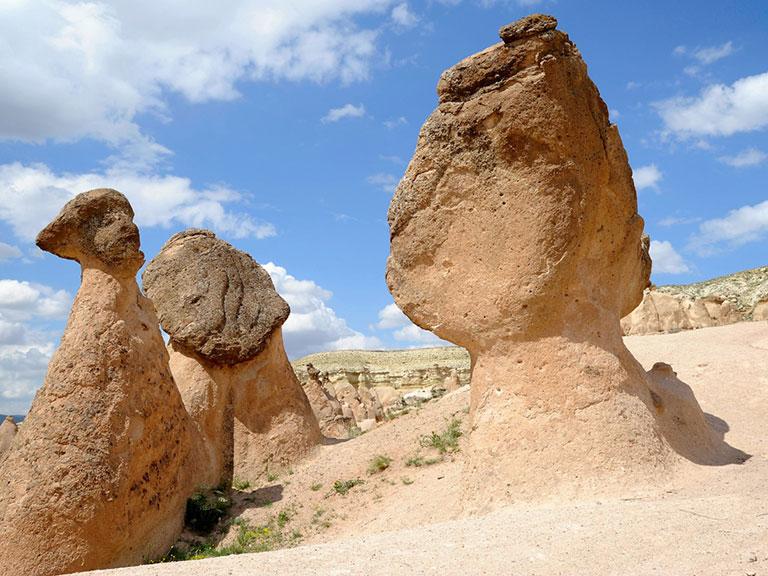 Cappadocia Rock Formations Devrent Imagination Valley
