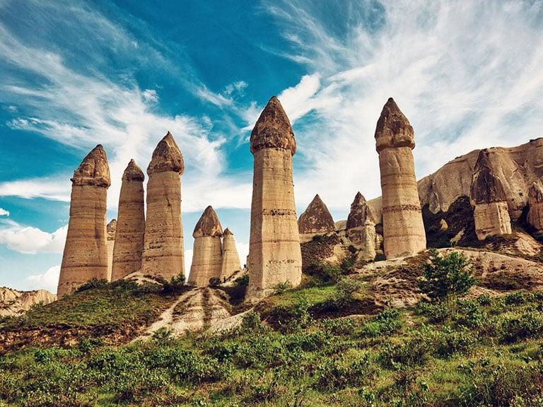 Cappadocia Rock Formations Fairy Chimneys