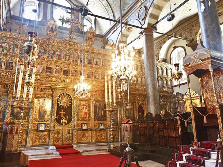 The Church of St. George in Fener, Istanbul