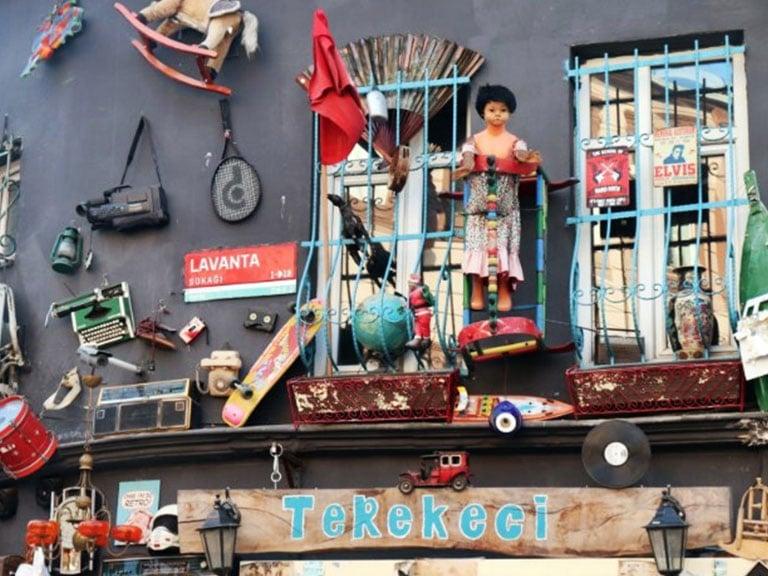 Cifit Bazaar in Balat, Istanbul