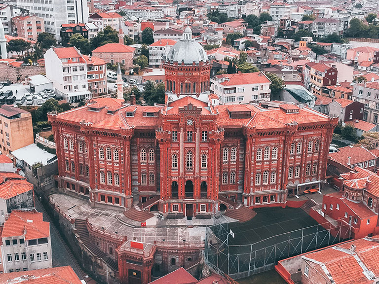 Fener Greek High School (Red Castle-Red School)