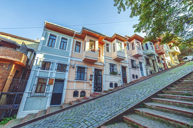Tour Photos Fener Balat Colorful Houses