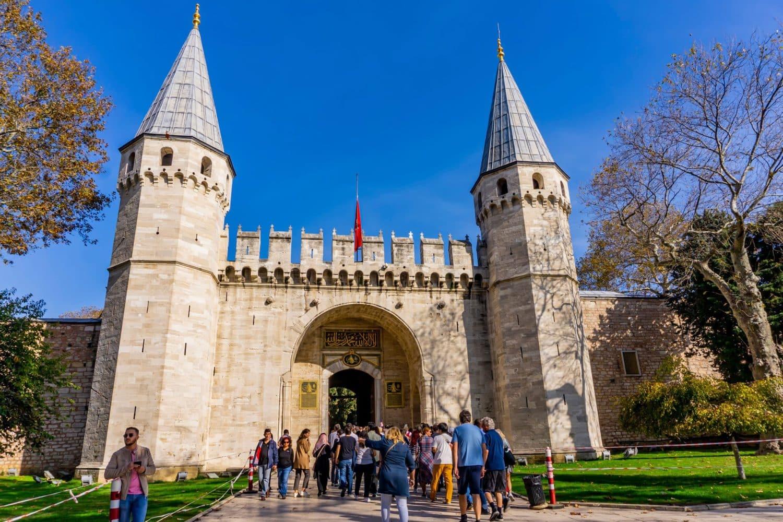 Tour Photos Topkapi Palace Entrance Gate