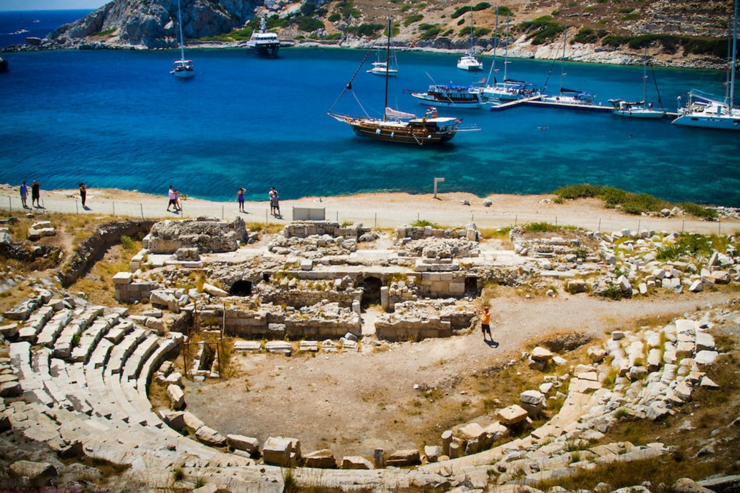 Gulet Charter Knidos Ancient Theater