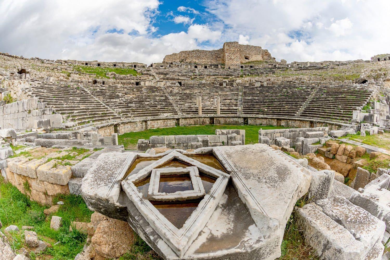 Tour Photos Ruins of Miletus Ancient City Theater