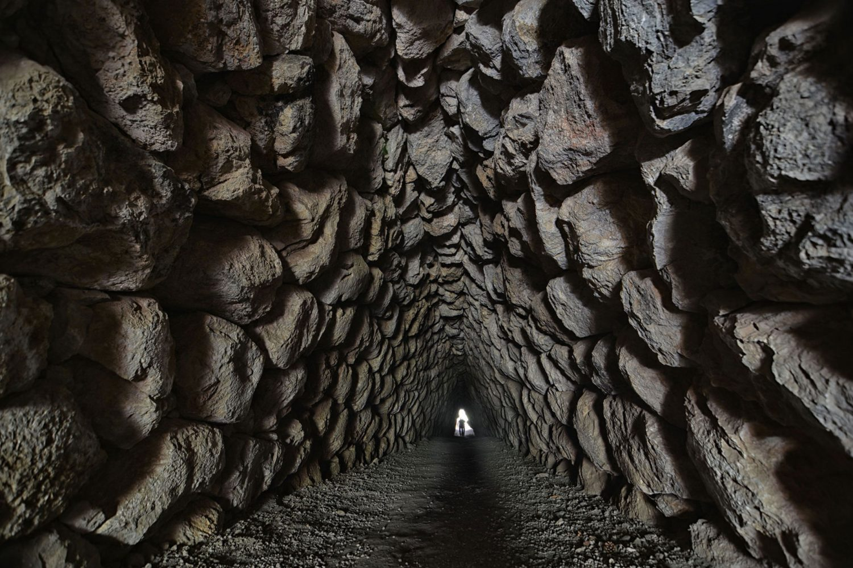Tour Photos Hattusa secret tunnel