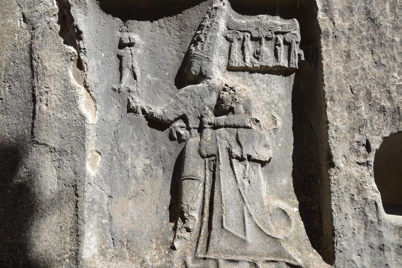 Tour Photos Hittite Relief God Sharruma and King Tudhaliya